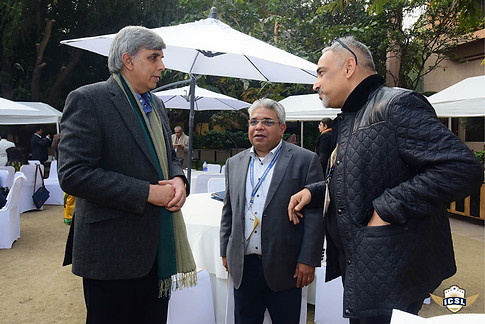 Prof Dinesh SIngh with Dr Atul Nischal and other delegates