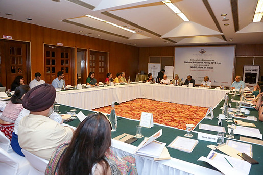 Delegates at Deliberation & Discussion on National Education Policy 2019 (Draft) at India Habitat Centre