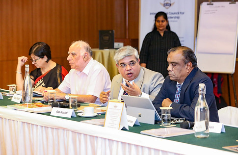 (L- R) Ms. Sangeeta D. Krishan, Mr. Suraj Prakash, Dr. Atul Nischal & Mr. G. Balasubramanian