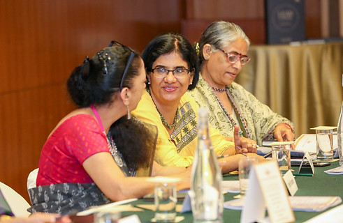 (L - R) Ms. Shalini Nambiar, Ms. Nita Arora & Dr. Rashmi Sethi