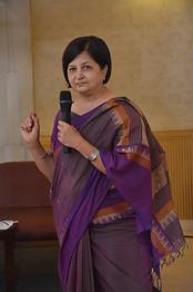 Ms. Sangeeta D. Krishan addressing delegates