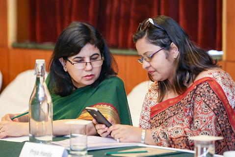 (L -R) Ms. Meeta Bhandula & Ms. Priya Handa