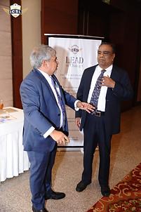 (L-R) Dr. Atul Nischal, Founder-Director,ICSL, Mr. G. Balasubramanian, Chairperson, Board of Advisors, ICSL