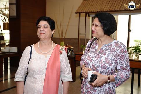 (L-R) Ms. Jeanie N Aibara, Dr. Anuradha Rai