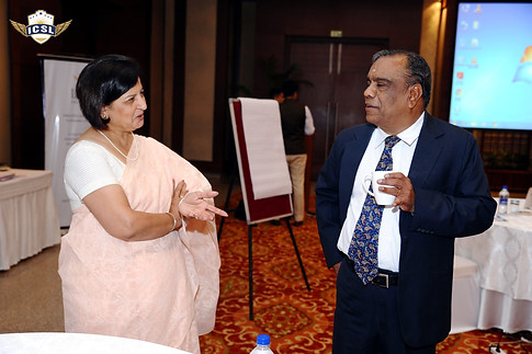 (L-R) Ms. Sangeeta D. Krishan, Educational Consultant, Mr. G. Balasubramanian