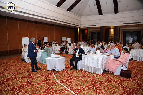 Dr. Atul Nischal addressing school leaders