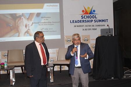 Mr. G.  Balasubramanian, Chairperson, Board of Advisors, ICSL,  Dr. Atul Nischal, Founder Director, ICSL