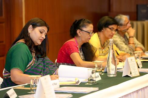 (L - R) Ms. Vandana Seth, Ms. Shalini Nambiar, Ms. Nita Arora & Dr. Rashmi Sethi