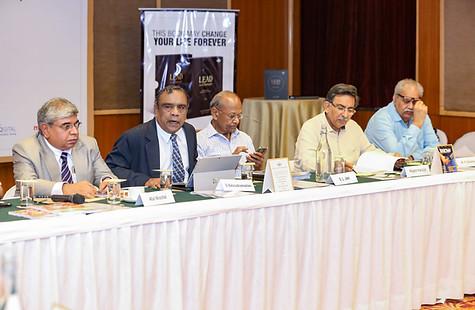 (L - R) Dr. Atul Nischal, Mr. G. Balasubramanian, Mr. S.L. Jain, Dr. Rajesh Hassija & Mr. M. P. Sharma