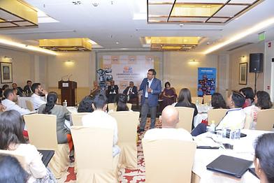 Dr. Rajesh Hassija addressing delegates