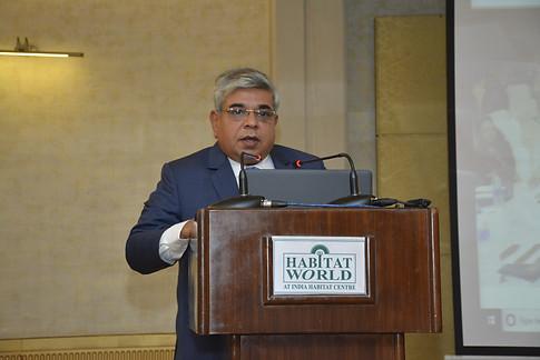 Dr. Atul Nischal addressing delegates at School Leadership Summit