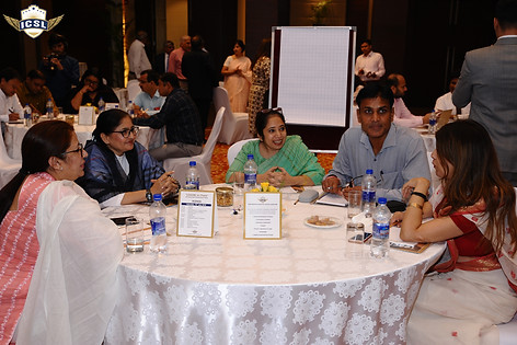 (L-R) Ms. Shefalee Gupta, Ms. Abha Sadana, Ms. Jaspreet Kaur, Mr. Harish K. Sharma, Director, Pragyan Public School, Jewar, Ms. Alka Sahani