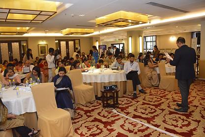 Delegates participating in an activity engagement program during ICSL Mylestone School Leadership Summit