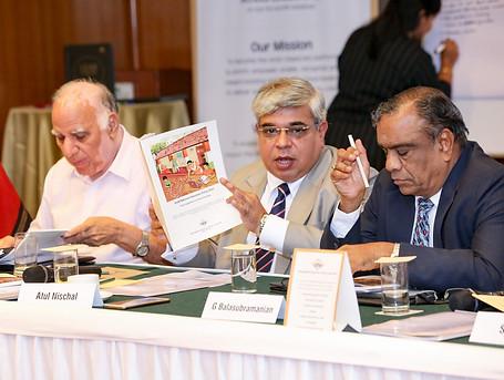 (L - R) Mr. Suraj Prakash, Dr. Atul Nischal & Mr. G. Balasubramanian