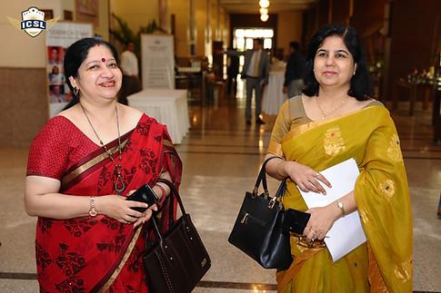 (L-R) Anjali Malik, Principal, Jaypee Public School, Noida, Ms. Meeta Bhandula, Principal, Jaypee Public School, Greater Noida