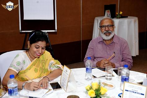 (L-R) Ms. Vartika, Academic Director, Victor Public School, Delhi, Mr. Guruprem Dass Kapoor, Director, Noida Educational Academy, Noida