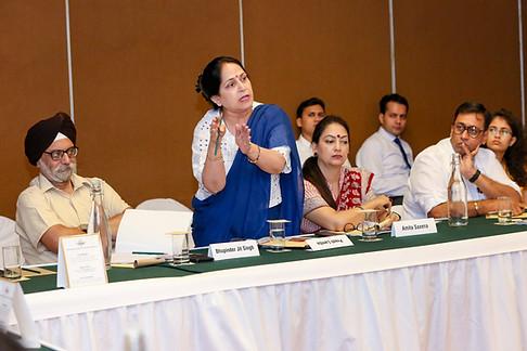 (L - R) Mr. Bhupinder Jit Singh, Ms. Neeta Dua, Dr. Amita Saxena & Mr. Vivek Garge