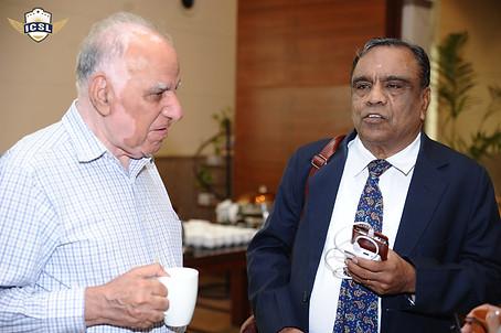 (L-R) Mr. Suraj Prakash, Director, Bal Bharati Public School Training Centre, Delhi, Mr. G. Balasubramanian