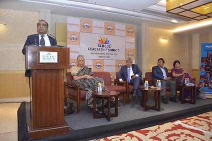 Mr. G. Balasubramanian addressing delegates