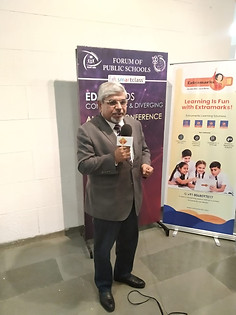 Dr.  Atul Nischal at Forum of Public Schools Annual Conference