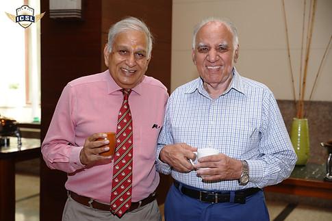 (L-R) Mr. Pramod Sharma, Vice President, Genesis Global School, Noida, Mr. Suraj Prakash