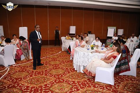School Leaders at LEADING in Chaos ICSL School Leader Transformation Program on 12th & 13th July, 2019 at Jaypee Greens Golf & Spa Resort, Greater Noida
