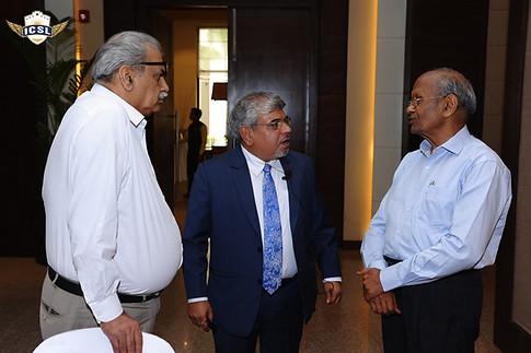 (L-R) Mr. M. P. Sharma, Dr. Atul Nischal, Mr. S. L. Jain