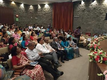 Dr.  Atul Nischal, Founder Director, ICSL with Mr. S. L. Jain, Director, Mahavir Senior Model School and other school leaders at Forum of Public School Annual Conference, IIC, New Delhi