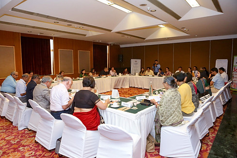 Delegates discussing National Education Policy 2019 (Draft)