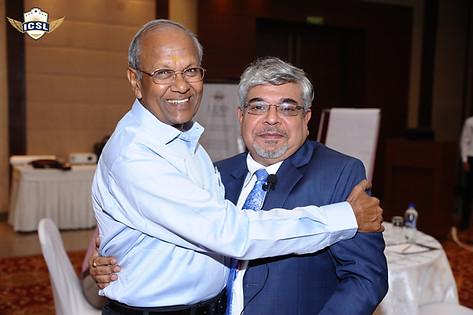 (L-R) Mr. S.L. Jain, Dr. Atul Nischal