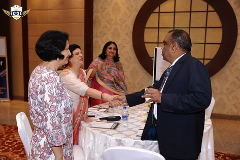 (L-R) Dr. Anuradha Rai, Principal, Ambience Public School, Gurugram, Ms. Jeanie N. Aibara, Principal, Ambience Public School, Delhi, Ms. Archana Soni, Principal, Chinmaya Vidyalaya, Delhi, Mr. G. Balasubramanian