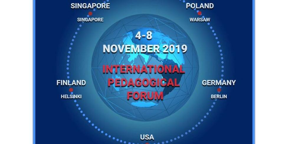 Global International Pedagogical Forum IPF-2019 (1)
