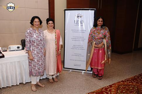 (L-R) Dr. Anuradha Rai, Ms. Jeanie N. Aibara, Ms. Archana Soni