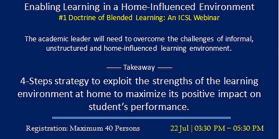 Enabling Learning in a Home-Influenced Environment