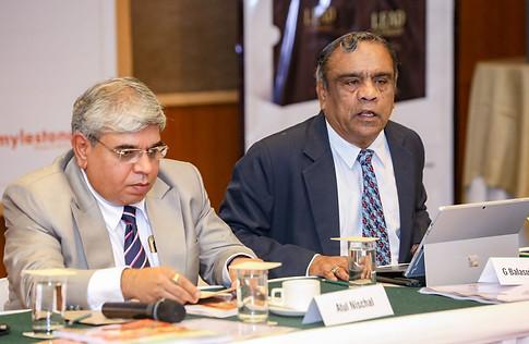 (L -R) Dr. Atul Nischal with Mr. G. Balasubramanian