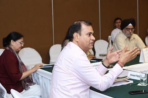 (L - R) Mr. Naveen Rajlani & Ms. Abha Sadana & Mr. Bhupinder Jit Singh