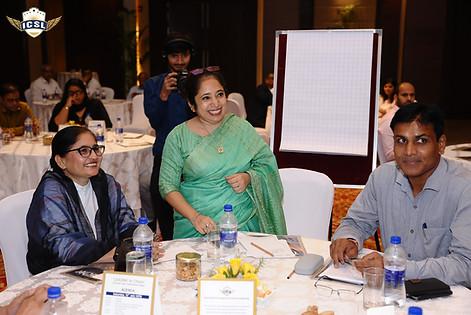 (L-R) Ms. Abha Sadana, Ms. Jaspreet Kaur, Mr. Harish K. Sharma