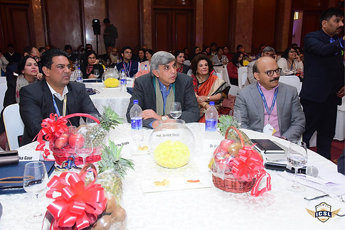 Prof. Dinesh SIngh with other delegates