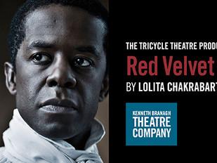 RED VELVET - Kenneth Branagh Theatre Company Garrick Theatre