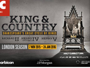 RSC King & Country in Review - The Telegraph ****