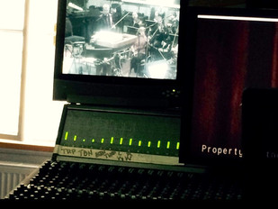 Recording final episodes of The Musketeers in Prague with 60 piece Orchestra...