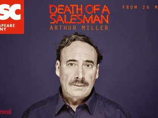 Work gets underway for Englishby Music at the RSC this week on Death of a Salesman