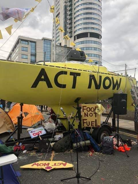 """Extinction Rebellion smeared as """"extremist"""" by ex police officer who was investigated for"""