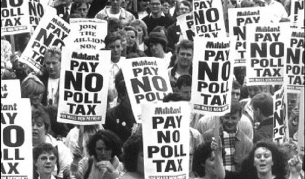 The Poll Tax Protests That Finished Thatcher - 30 Years On