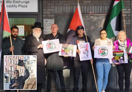 'Israel On Trial': Jewish Asylum Seeker 'Left Shaking' by Zionist Heckler