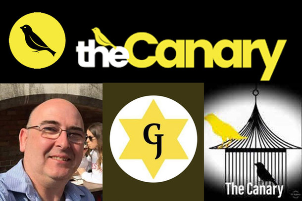 'One Flew Over The Canary's Nest' - What Gnasher Jew 'Friend' John Arnott Did On
