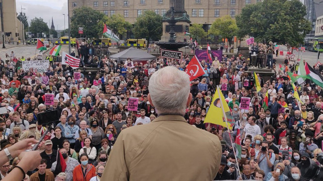 """Corbyn: """"Liverpool's a wonderful city... It should not be hosting this event"""""""