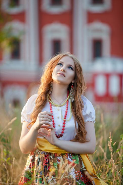 Русская девица