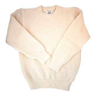 Crew Neck Sweater - Seashell