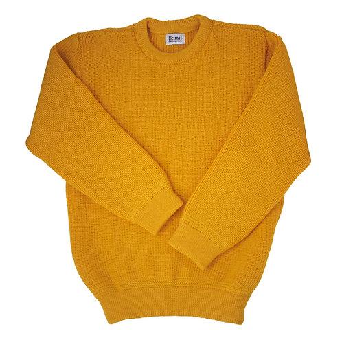 Crew Neck Sweater - Golden